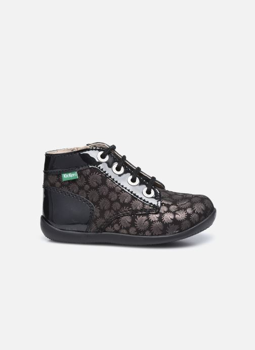 Bottines et boots Kickers Bonzip Noir vue derrière
