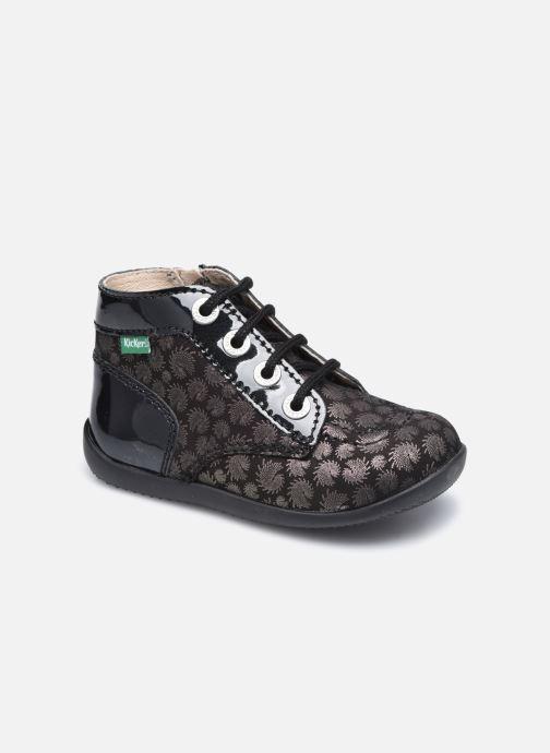 Bottines et boots Kickers Bonzip Noir vue détail/paire