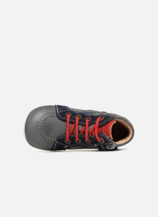 Bottines et boots Kickers Bakari Gris vue gauche