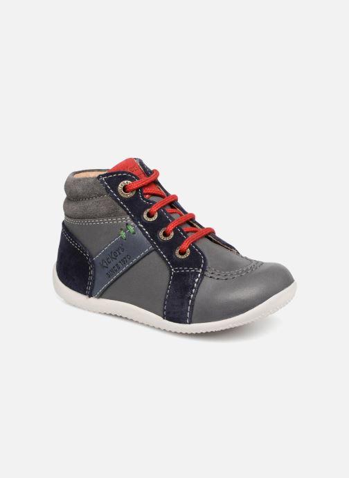 Bottines et boots Kickers Bakari Gris vue détail/paire
