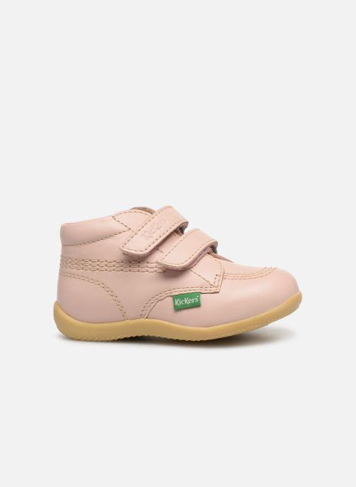 Boots en enkellaarsjes Kickers Billy Velk Roze achterkant