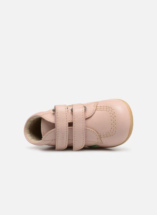 Boots en enkellaarsjes Kickers Billy Velk Roze links