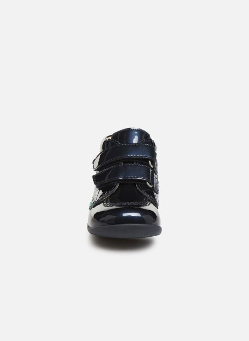 Boots en enkellaarsjes Kickers Billy Velk Blauw model