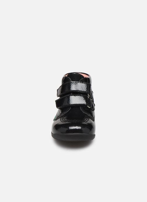 Bottines et boots Kickers Billy Velk Noir vue portées chaussures