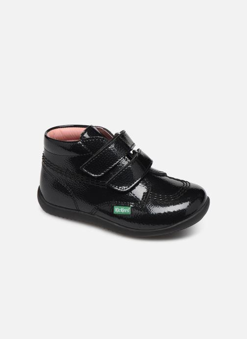 Bottines et boots Kickers Billy Velk Noir vue détail/paire