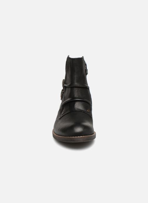 Bottines et boots Kickers Smatchy Noir vue portées chaussures