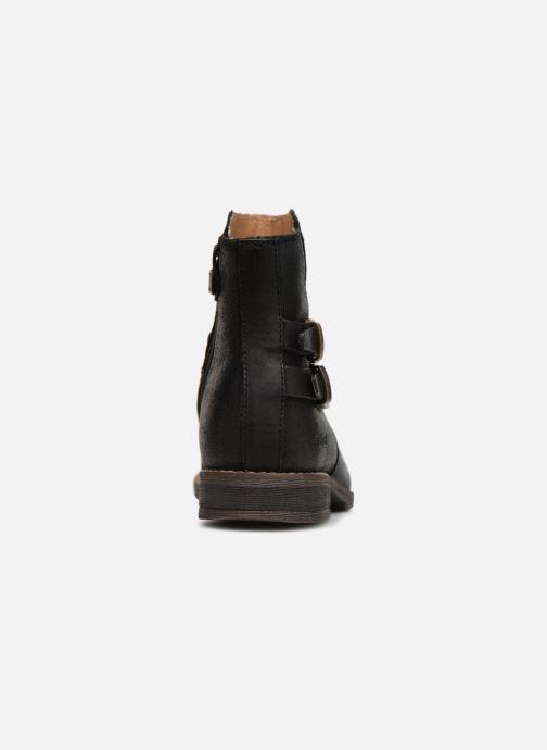 Bottines et boots Kickers Smatchy Noir vue droite