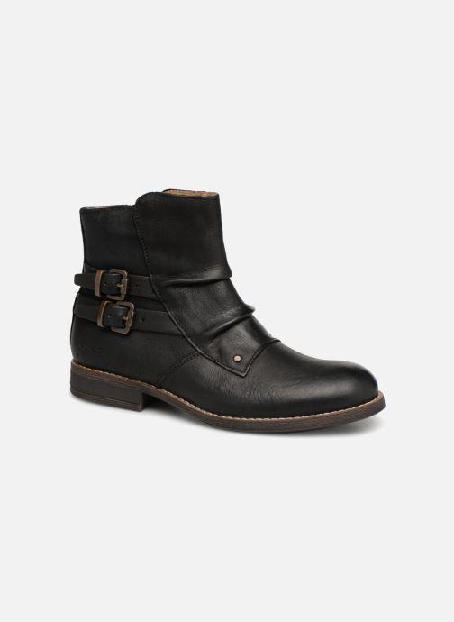 Bottines et boots Kickers Smatchy Noir vue détail/paire