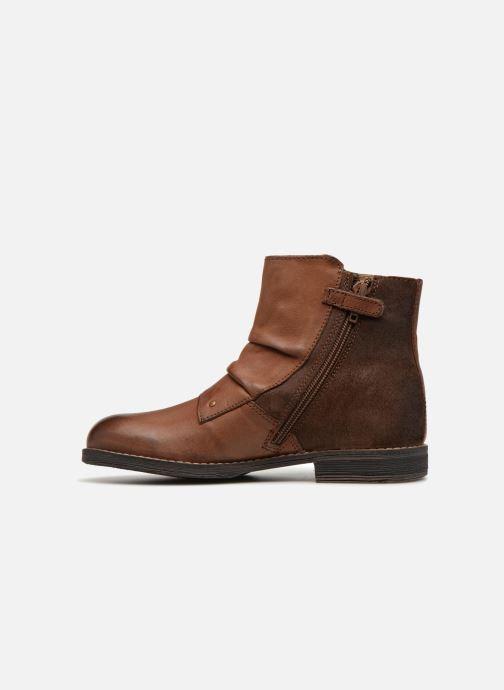 Boots en enkellaarsjes Kickers Smatchy Bruin voorkant