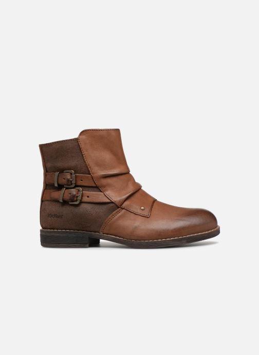 Boots en enkellaarsjes Kickers Smatchy Bruin achterkant
