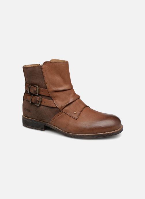 Boots en enkellaarsjes Kickers Smatchy Bruin detail