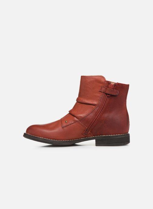 Bottines et boots Kickers Smatchy Rouge vue face
