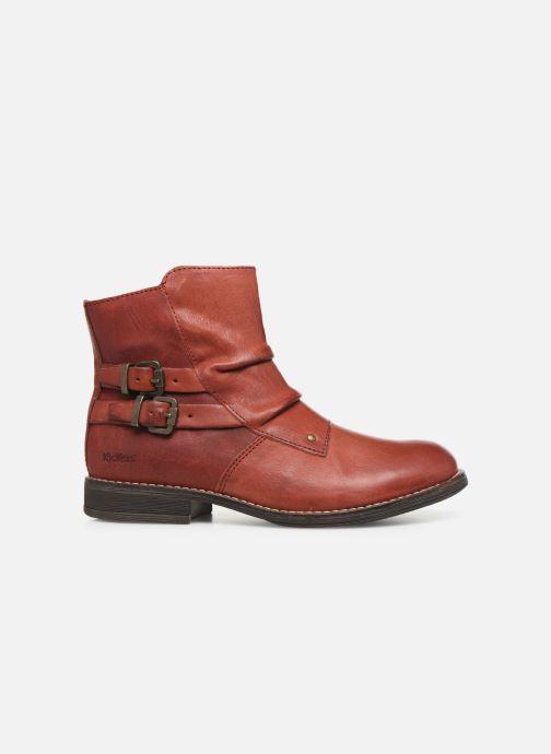 Bottines et boots Kickers Smatchy Rouge vue derrière