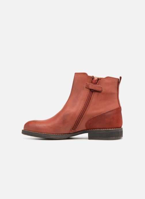Bottines et boots Kickers Smad Rouge vue face