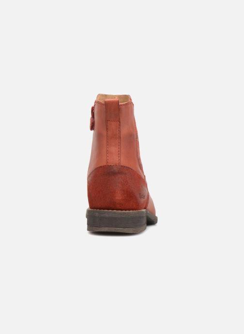 Stiefeletten & Boots Kickers Smad rot ansicht von rechts