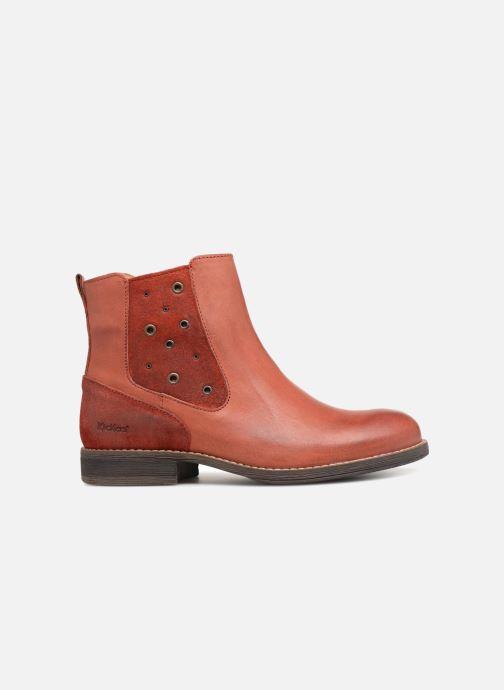 Stiefeletten & Boots Kickers Smad rot ansicht von hinten