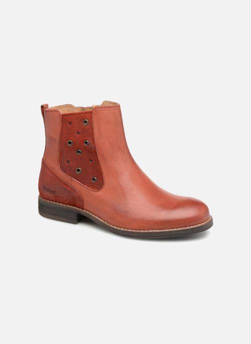Stiefeletten & Boots Kickers Smad rot detaillierte ansicht/modell