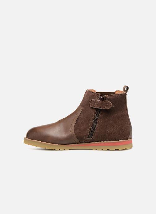 Stiefeletten & Boots Kickers Mustik braun ansicht von vorne
