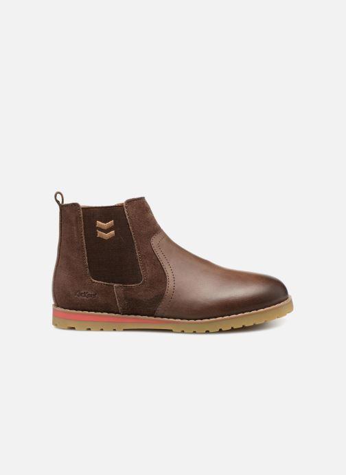 Stiefeletten & Boots Kickers Mustik braun ansicht von hinten