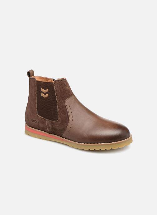 Stiefeletten & Boots Kickers Mustik braun detaillierte ansicht/modell