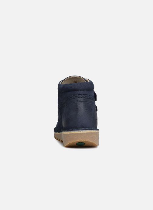 Stiefeletten & Boots Kickers Neovelcro blau ansicht von rechts