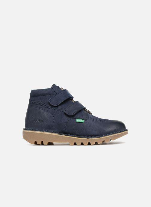 Stiefeletten & Boots Kickers Neovelcro blau ansicht von hinten