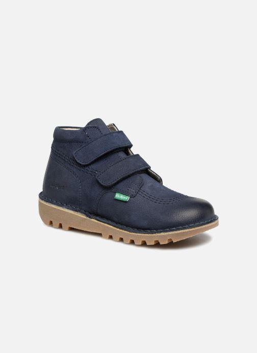 Stiefeletten & Boots Kickers Neovelcro blau detaillierte ansicht/modell