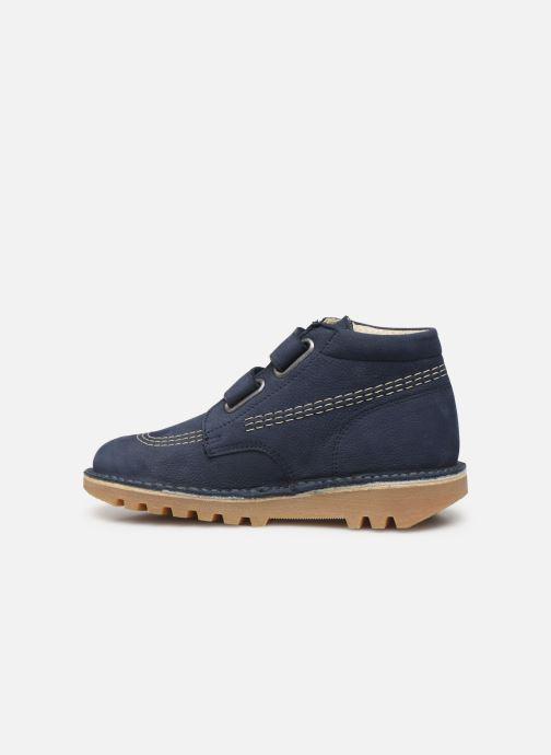 Boots en enkellaarsjes Kickers Neovelcro Blauw voorkant