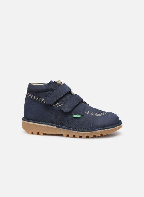 Bottines et boots Kickers Neovelcro Bleu vue derrière