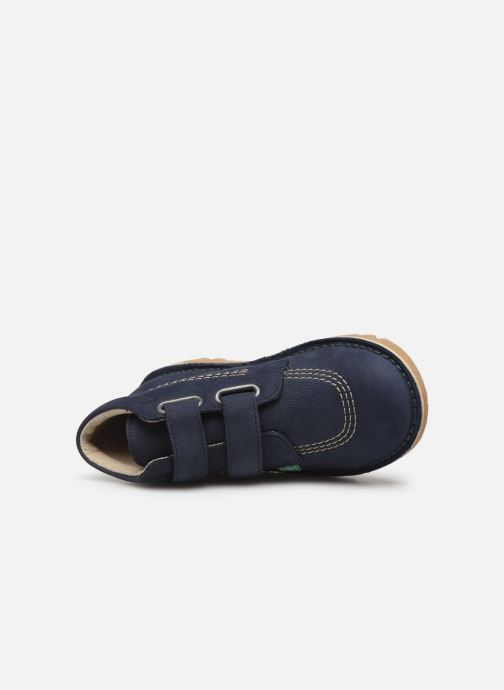 Boots en enkellaarsjes Kickers Neovelcro Blauw links
