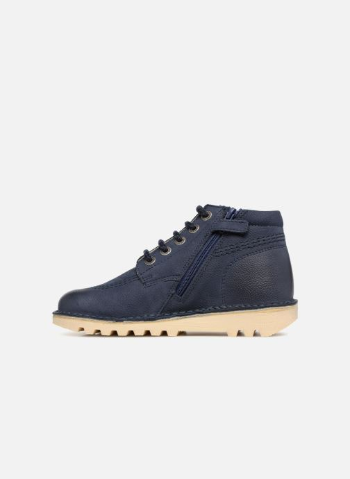 Stiefeletten & Boots Kickers Neorallyz blau ansicht von vorne