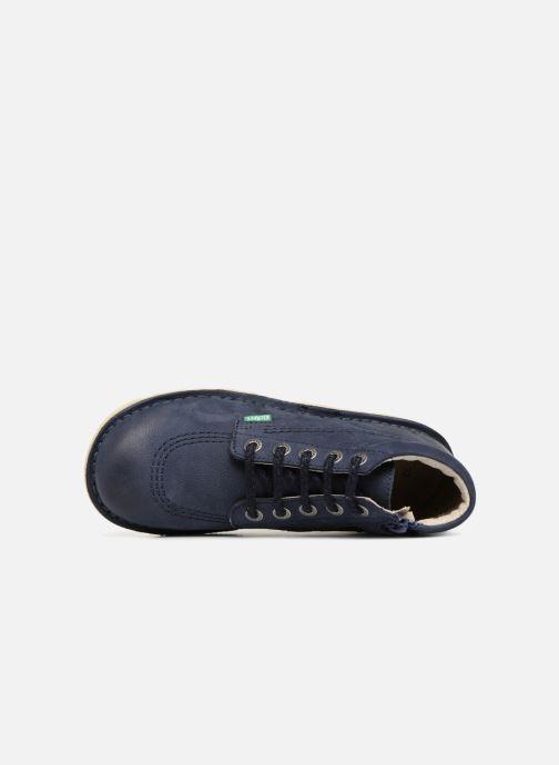 Stiefeletten & Boots Kickers Neorallyz blau ansicht von links