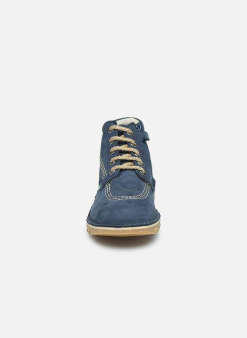 Boots en enkellaarsjes Kickers Neorallyz Blauw model