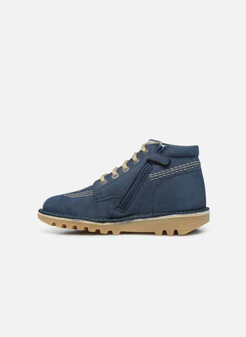 Boots en enkellaarsjes Kickers Neorallyz Blauw voorkant