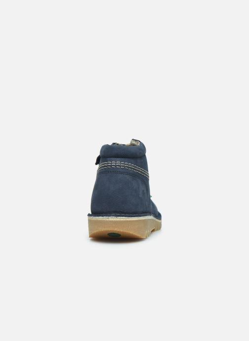 Boots en enkellaarsjes Kickers Neorallyz Blauw rechts