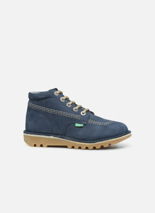 Boots en enkellaarsjes Kickers Neorallyz Blauw achterkant