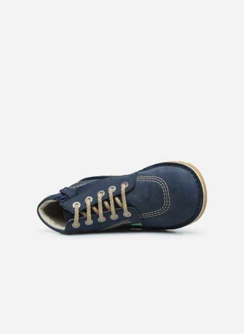 Boots en enkellaarsjes Kickers Neorallyz Blauw links