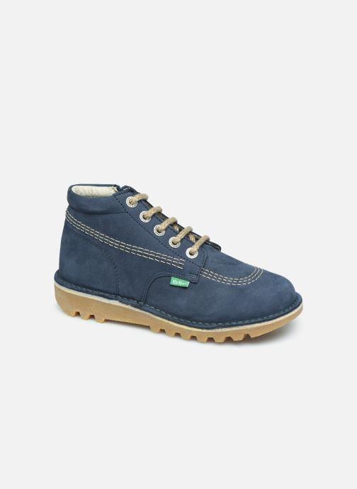 Boots en enkellaarsjes Kickers Neorallyz Blauw detail