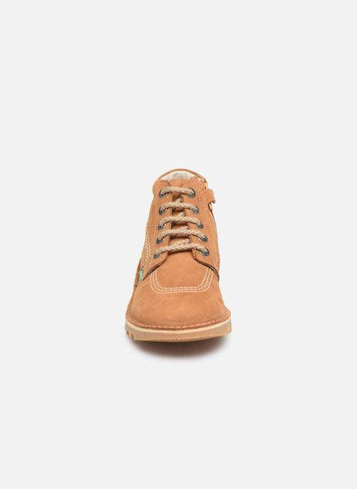 Boots en enkellaarsjes Kickers Neorallyz Bruin model