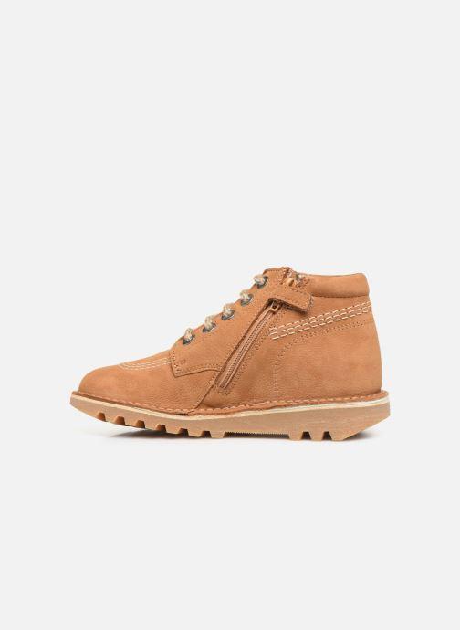 Boots en enkellaarsjes Kickers Neorallyz Bruin voorkant