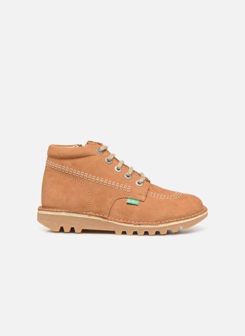 Boots en enkellaarsjes Kickers Neorallyz Bruin achterkant