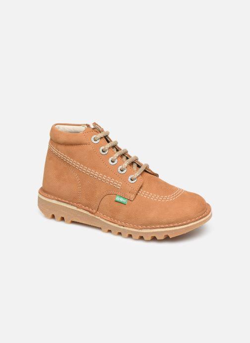 Boots en enkellaarsjes Kickers Neorallyz Bruin detail