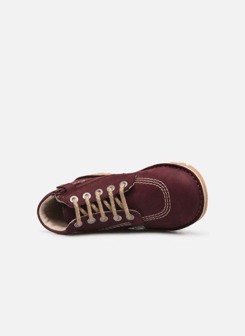 Stiefeletten & Boots Kickers Neorallyz lila ansicht von links