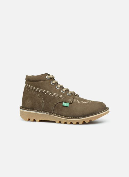 Bottines et boots Kickers Neorallyz Vert vue derrière