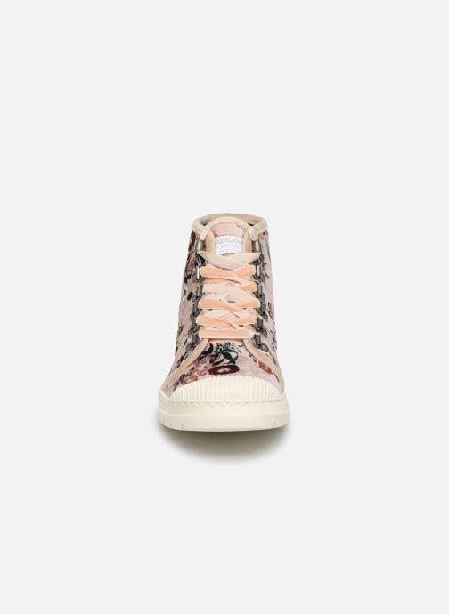 Baskets Pataugas Authentique C Multicolore vue portées chaussures