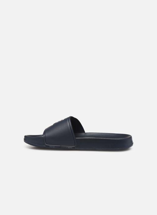 Sandales et nu-pieds FILA Palm Beach Slipper Bleu vue face
