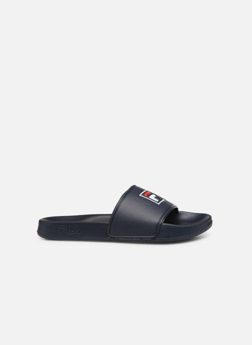 Sandales et nu-pieds FILA Palm Beach Slipper Bleu vue derrière