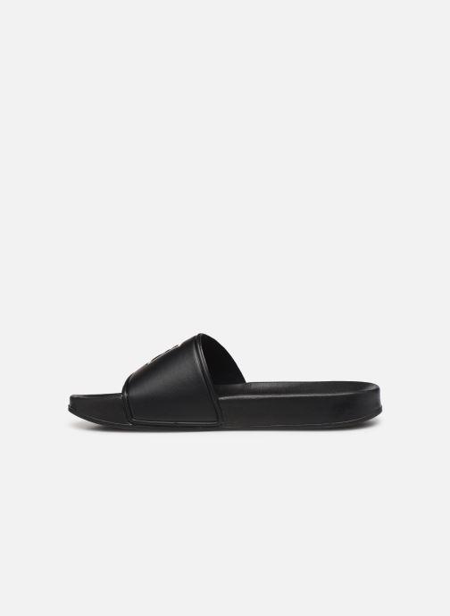 Sandales et nu-pieds FILA Palm Beach Slipper Noir vue face
