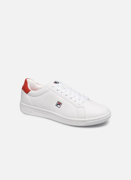 Baskets FILA Crosscourt 2 F low Blanc vue détail/paire