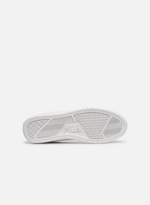 Baskets FILA Crosscourt 2 F low Blanc vue haut